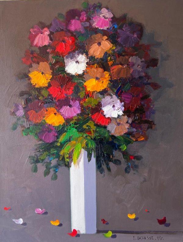 Carlos Catasse – Florero 2005 – 100 x 80 cms